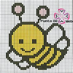 bumble bee cross stitch