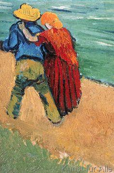 Vincent van Gogh - A Pair of Lovers, Arles, 1888
