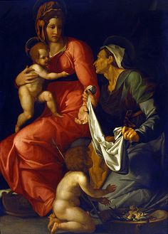 Conte, Jacopino del (1510-1598) - Madonna and Child (National Gallery of Art, Washington. D.C.) |