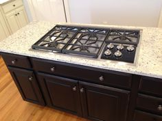 """36"""" Wolf Cooktop - the most expensive addition by far"""