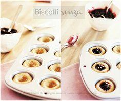 biscotti senza: sono infatti privi di uova, lievito, latte e derivati, zucchero raffinato.