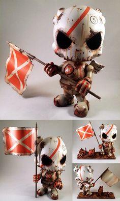 The Blank res . Vinyl Toys, Vinyl Art, Character Art, Character Design, Character Reference, Sculpture Metal, Horror Decor, Diy Craft Projects, Crafts