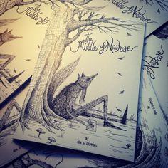 Self Published Comic Book: 'THE MIDDLE OF NOWHERE' by Alex G Griffiths