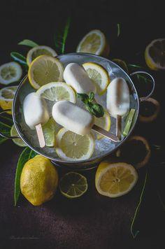 Revelando Sabores: Polos cremosos de limón