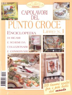 Gallery.ru / Фото #1 - punto croce 1 seconda serie - tymannost Cross Stitching, Cross Stitch Embroidery, Cross Stitch Patterns, Cross Stitch Magazines, Cross Stitch Books, Magazine Cross, Needlepoint, Diy And Crafts, Decoration