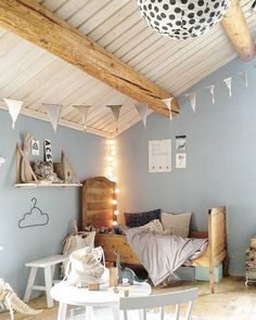 24 Cute Inspiring Farmhouse Bedroom Design Ideas for your Kid's Interior Design Games, Deco Kids, Ideas Hogar, Kids Bedroom, Kids Rooms, Room Kids, Bedroom Bunting, Lego Bedroom, Child Room