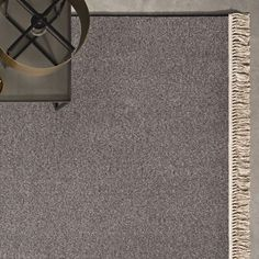 Carpet fringe with knots @ KPAlfombras Coleccion WOOLMOON + Flecos con Nudo
