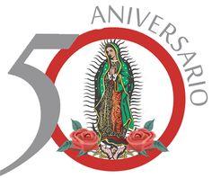 Antorcha Guadalupana - Logo 50 Aniversario