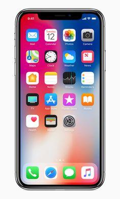Maak kennis met de nieuwe IPhone X