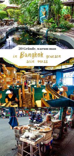 Jetzt auf dem Blog: 20 Gründe, warum Bangkok wirklich total verrückt, aber absolut sehenswert ist I Thailand I Reisetipps