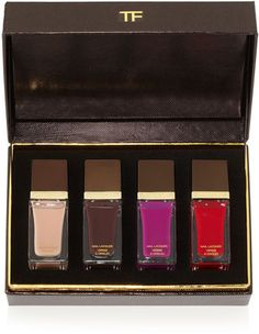 nail polish - ShopStyle: Tom Ford 4 Piece Nail Lacquer Boxed Gift Set