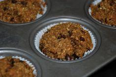 Pumpkin chocolate quinoa muffins