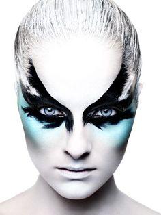 raven on pinterest black swan makeup black feathers and black swan. Black Bedroom Furniture Sets. Home Design Ideas