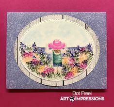 Design, Dots Art, Watercolor, Art Impressions Stamps, Art, Photo And Video, Instagram Photo, Watercolor Design