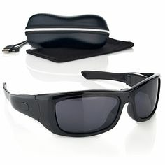 VidVision High-Definition Sunglasses Video Camcorder