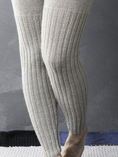 Nordic Yarns and Design since 1928 Crochet Pants, Crochet Socks, Crochet Gloves, Crochet Jacket, Knitting Socks, Hand Knitting, Knitting Patterns, Knit Leggings, Knit Pants