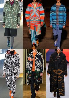 Menswear A/W 15-16 Print trend highlights: London, Paris & Milan – Part 2 - Crafted Tribe