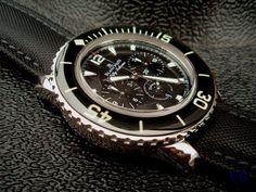 FS: Blancpain Fifty Fathoms Flyback Chrono 45mm ...