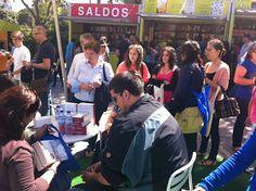 Feira do Livro de Lisboa 2013 Fair Grounds, Lisbon, Winter Time, Shades, Photos