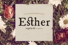 Esther Handmade + Web Font by Hederae Creative Shop on Creative Market                                                                                                                                                                                 More