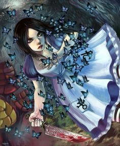 @дневники — Alice in Wonderland vs. American McGee's Alice
