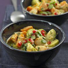 Rosenkohl-Curry *Essen und Trinken