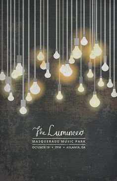 The Lumineers Poster by thesearethingsbykody on Etsy, $15.00