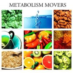 #weightloss #weightlosstips Best foods to kickstart your metabolism.  Any leafy or fibrous greens will require your body to work harder to digest it.  Water is essential to help body flush out waste & clean out system.  Almonds are nutritionally dense.  Fruits w/ lower GL levels like grapefruit kiwis are loaded w/ fiber & has tons of antioxidants.  Almonds & other raw nuts like walnuts has a large amount of healthy macronutrients & has healthy fats which your body needs to function at its…