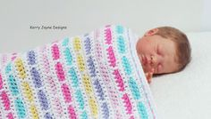 CROCHET PATTERN RAINBOW Bricks Pattern Crochet blanket pattern
