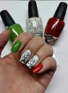 Pinta Tus Uas Mexicanas Mexican Nails Cute Nails Pinterest