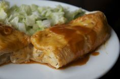 Beef Enchiladas | OAMC from Once A Month Mom