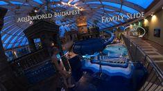 Aquaworld Budapest Family Slide 360° VR POV Onride Water Slides, Vr, Budapest