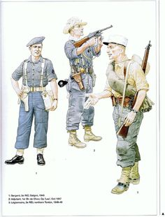 Indochine Military Art, Military History, Army Uniform, Military Uniforms, Army Drawing, French Armed Forces, First Indochina War, French Foreign Legion, Vietnam War Photos