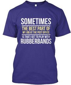 Postal Worker - Rubberbands   Teespring