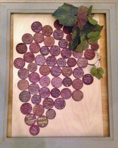 Unique Guest Book for Vineyard wedding, Wine Grape Guestbook to frame and display, Wine Themed Guestbook Listing for 100 - 150 Grapes by Winewifehappylife on Etsy