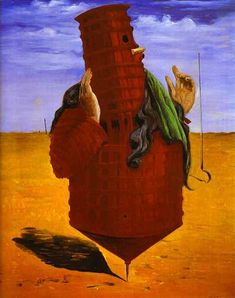 Ubu Imperator - Max Ernst. I find it oddly unsettling...