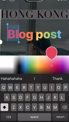 How to edit your Instagram stories in ombré colored fonts. #instagram #ig #tips #tipsandtricks #igstory #instagramstories #instagramtips Instagram Editing Apps, Videos Instagram, Instagram And Snapchat, Instagram Blog, Instagram Story Ideas, App Para Fazer Video, How To Do Ombre, Video Advertising, Insta Photo Ideas