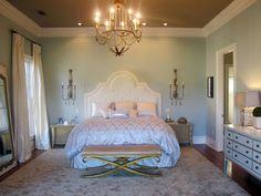 dormitorio romantico colores crema elegantes ideas