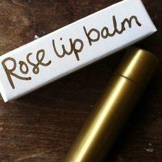 Rose Lip Balm