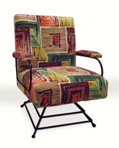 Interior design | decoration | home decor | furniture | Swivel-Mania: Mid Century swivel chair, via Etsy.