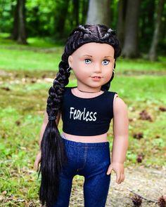 Original American Girl Dolls, American Girl Doll Room, Custom American Girl Dolls, American Girl Doll Pictures, American Girl Crafts, American Doll Clothes, Ag Doll Clothes, Custom Dolls, American Girl Hairstyles