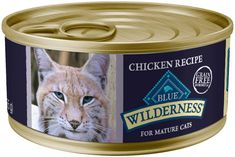 The whole advanced grain-free wet food is really just another illustration of both the goods in this series, however the only wet feed recipes suitable for senior use is that of a Blue-Buffalo species. Canned Cat Food, Dry Cat Food, Good Protein Foods, High Protein, Senior Cat Food, Salmon Cat, Cat Diet, Best Cat Food, Natural Mature