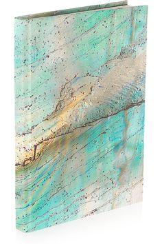 Weston|Calcite printed silk journal|NET-A-PORTER.COM