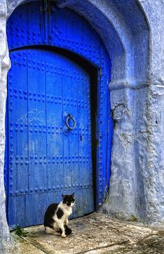 I´m sure this Picture is from Chefchaouen, the blue city