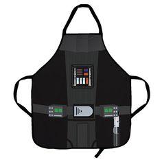 Star Wars Darth Vader Apron http://kitchencraftzone.co.uk/darth-vader-apron/ #darth vader #star wars #apron