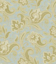 Home Decor Print Fabric-Waverly Rustic Retreat Glacier at Joann.com - curtain fabric