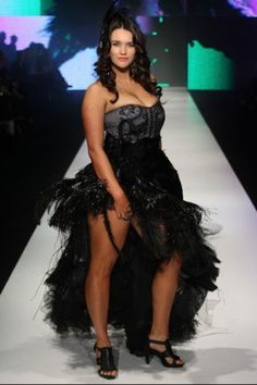 the first ever plus size fashion parade