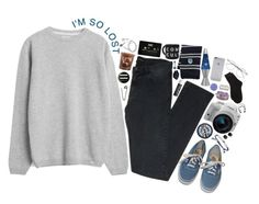 """""""//i'm just a lost boy, not ready to be found//"""" by abigialtheturtle ❤ liked on Polyvore featuring CO, Norse Projects, The Kooples, Vans, Venessa Arizaga, Eos, Native Union, Pieces, Universal Lighting and Decor and McCoy Design"""