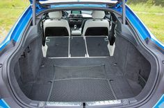 2015 BMW 4 Series Boot Space