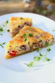 Savory Pastry, Tart Recipes, Croissants, Lasagna, Quiche, Easy Meals, Food And Drink, Healthy, Breakfast